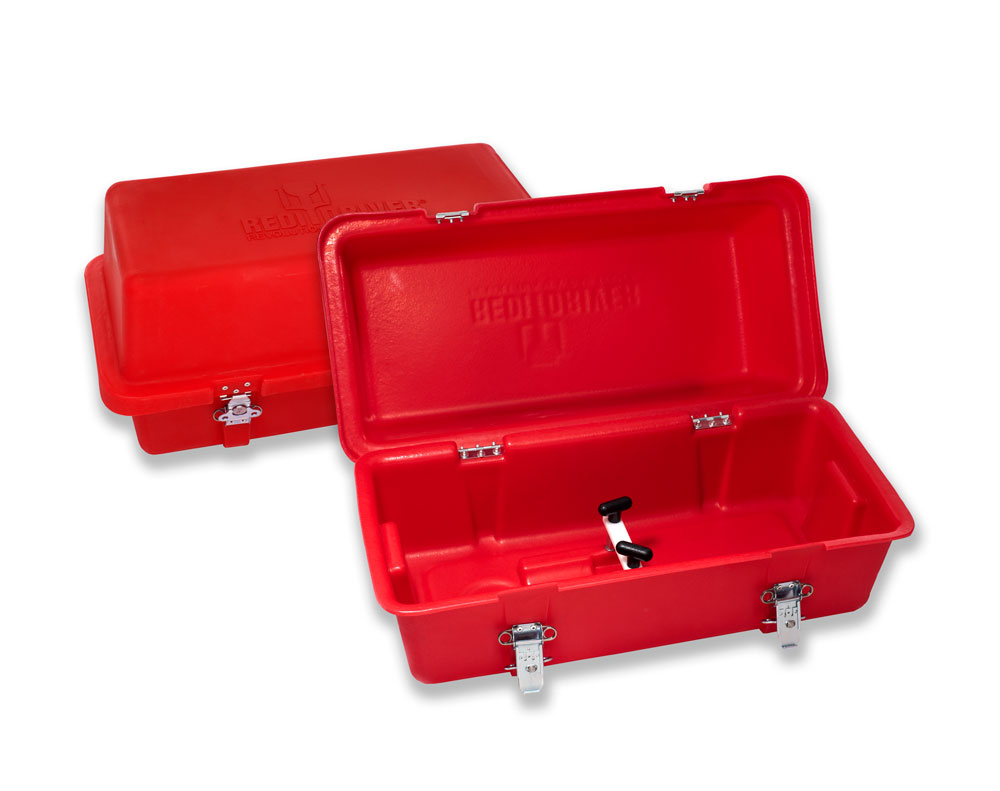 Tuff Box for storage of REDI Driver & Accessory